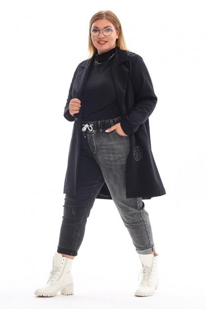 Женский пиджак 6496 Черный