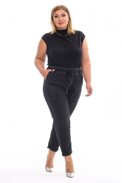 Женские джинсы 158 Черный